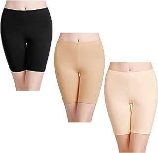Women's Anti Chafing Cotton Underwear Boy Shorts Bike Long Leg Multipack