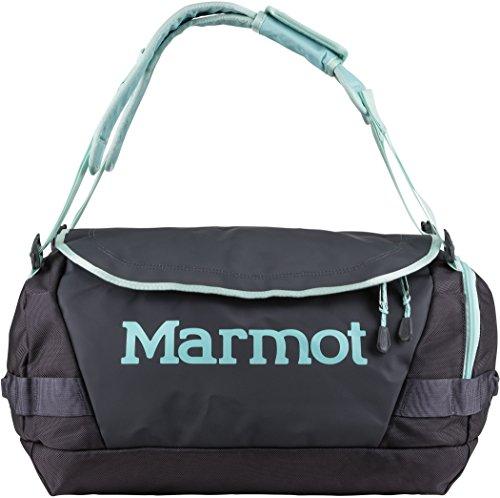 Marmot Long Hauler Travel Duffel Bag, Dark Charcoal/Blue Tint, Small