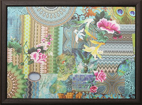 Andrew, laptoptray, kniedienblad, met kussen, dienblad, kleurrijk, turquoise