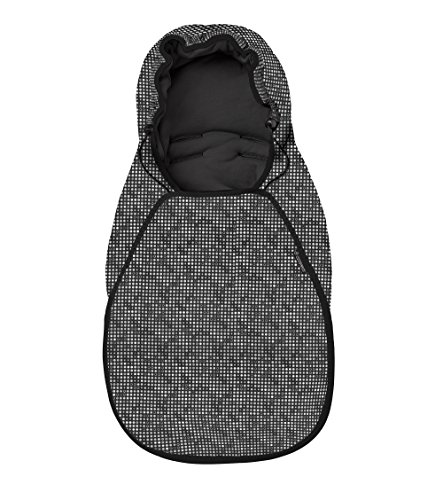Maxi-Cosi Cabriofix Fußsack, schwarz (digital black)