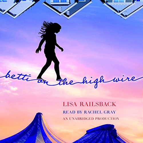Betti on the High Wire audiobook cover art