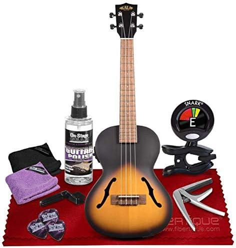 Top 10 Best epiphone les paul acoustic-electric concert ukulele outfit vintage sunburst Reviews