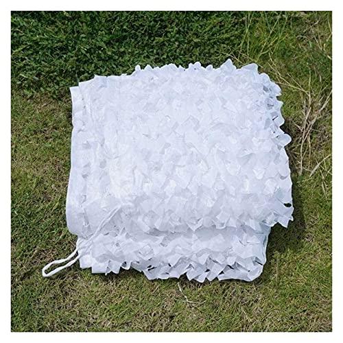 ROWE Filet de camouflage pour jardin Blanc armée pour décoration photographique, photographie et pare-soleil Taille A_2 x 10 m, a, 4*8m (13*26ft)