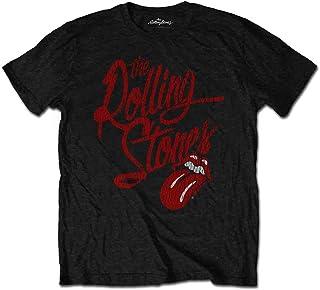 ROLLING STONES ローリングストーンズ Script Logo/Tシャツ/メンズ 【公式/オフィシャル】