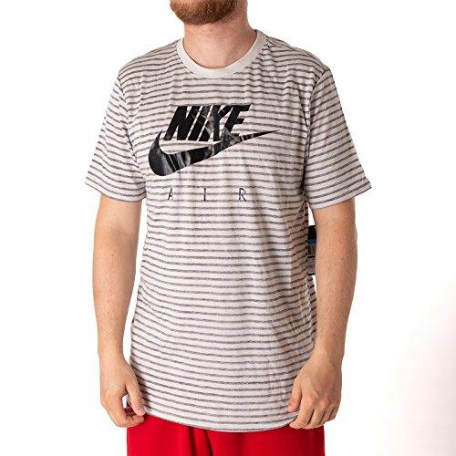 Nike 892213, T-Shirt Herren M Light Bone Nero