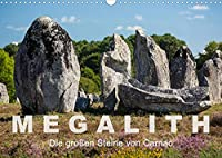 Megalith. Die grossen Steine von Carnac (Wandkalender 2022 DIN A3 quer): Eine Tour zu den Megalithen in Carnac und Umgebung (Monatskalender, 14 Seiten )