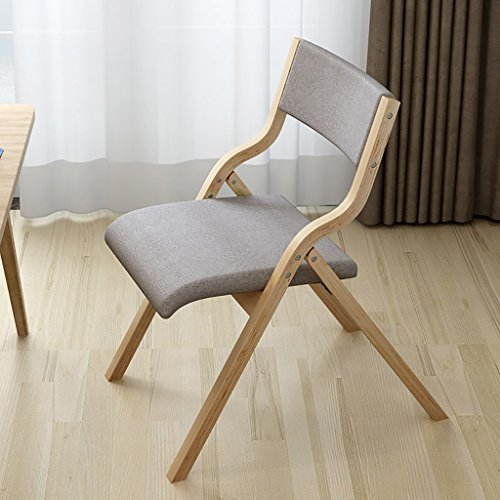 MXXYZ Klappsessel klappstühle Tuch Truss Klappstuhl Stuhl Stuhl Retro Computer Stuhl Gebogene hölzerne Rücken Kreativ Schreibtisch und Stuhl