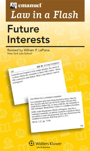 Law in a Flash: Future Interests 2011