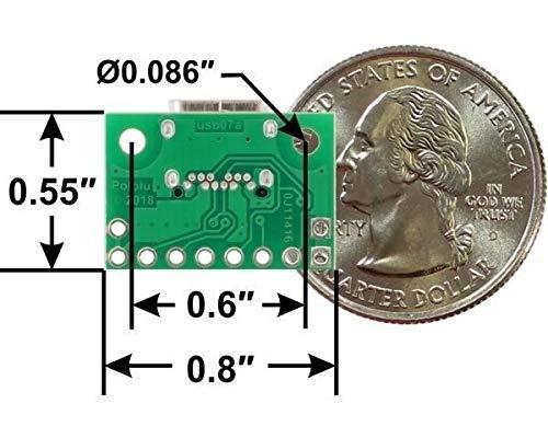 Pololu Conector USB 2.0 tipo C. 3