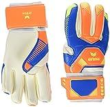erima Premier Match - Guantes de Portero, Color Azul y Naranja, Todo el año, Unisex, Color Azul - Azul/Naranja, tamaño 12