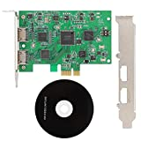 Tarjeta de Captura de Video, 1920X1080P60Fps Grabber 4K de Calidad de Ultra Alta definición con Loop out Calidad HD ampliamente Utilizada en Sistemas/Sistemas Mac