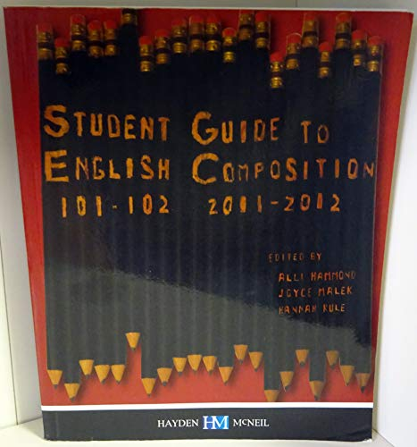 Student Guide to English Composition; 101-102 (University of Cincinnati)