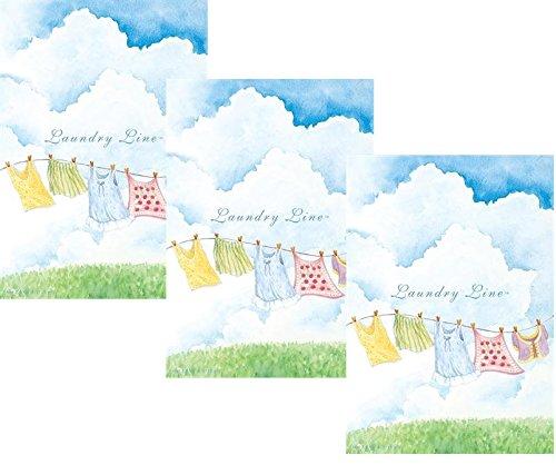 Pack Of 3große Duftsachet Laundry Line