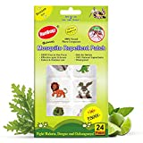 RunBugz Mosquito Repellent Patches for Babies, Cute Animal Patch, 24 Patches