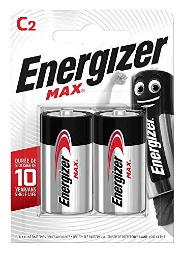 Energizer Max C Alkali Batterien, 2 Stück