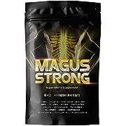 男の自信増大【 国産 】マグアスストロング メンズサプリ 4つの持続力サポート成分( 発酵マカ, 亜鉛, マムシ, スッポン ) 30粒入り