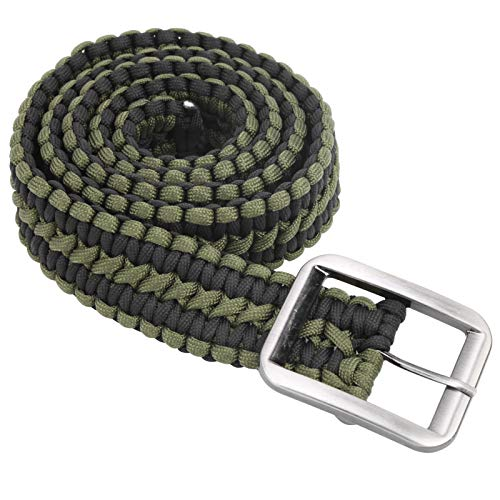 Cuerda de paraguas Cinturón de supervivencia Life Cinturón de supervivencia al aire libre Siete núcleos Cable de paraguas Cinturón trenzado Cinturón militar tejido a mano Cinturón para senderismo Camp