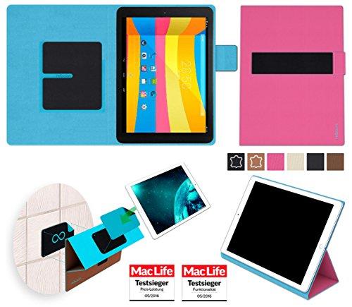 reboon Hülle für Cube Talk 9X Tasche Cover Case Bumper | in Pink | Testsieger