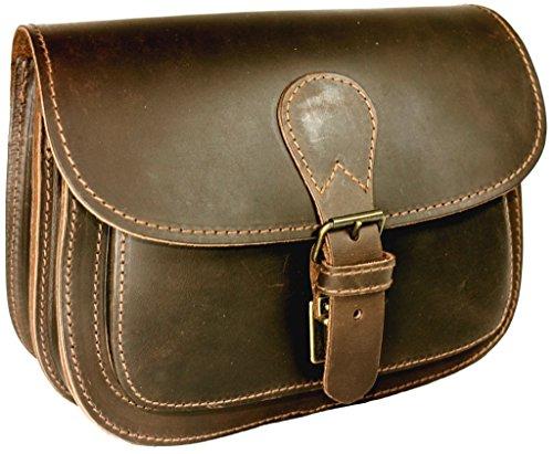 DELARA Jagdtasche aus Ranger-Leder - Made in Germany