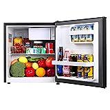 TECCPO Mini Fridge, 1.7 Cu.Ft Small Fridge, Energy Star, Auto Defrost, 37dB, Small Refrigerator, 6...