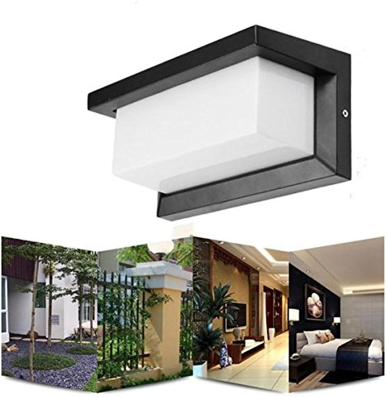 Global 10 Watt Warmwei Wei Wasserdicht LED Wandleuchte Auenhof Garten Korridor Licht AC90-265V