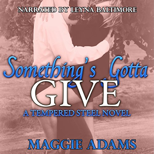 Something's Gotta Give audiobook cover art