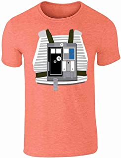X-Wing Pilot Funny Halloween Costume Graphic Tee T-Shirt for Men