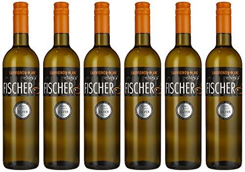 Fischer Sauvignon Blanc 2011 Süß, EINWEG (6 x 0.75 l)