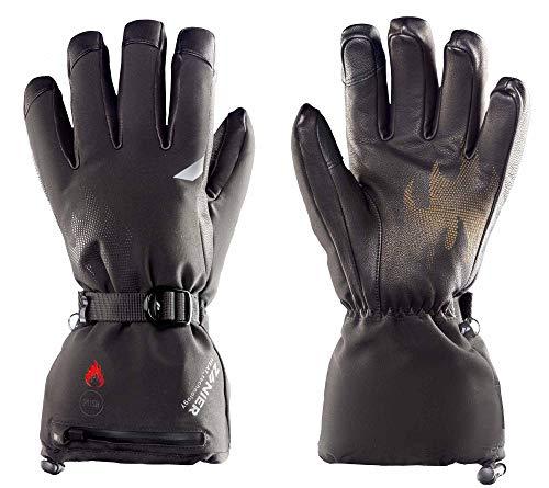 Zanier Heat.STX Beheizbare Handschuhe 8 schwarz