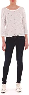 Tiffosi One Size Fits All Skinny Jeans for Women - Dark Navy Free Size (10006134-E10)
