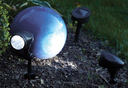 Brema 123634 Set de 2 Spot Solaire LED en Plastique