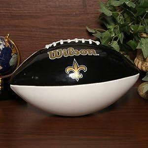 NFL New Orleans Saints Autograph Official Size Wilson Football