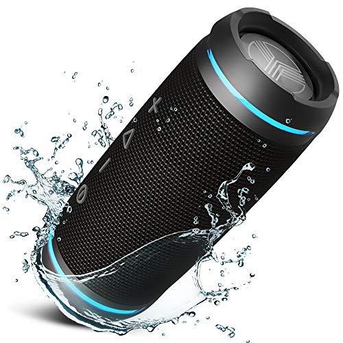 TREBLAB HD77 - Ultra Premium Bluetooth Speaker - Loud 360° HD Surround Sound, Wireless Dual...