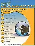 Math Mammoth Grade 5 Review Workbook