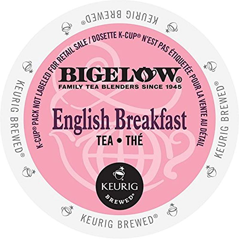 Bigelow K Cup For Keurig Brewers English Breakfast Tea 24 Count Pack Of 4