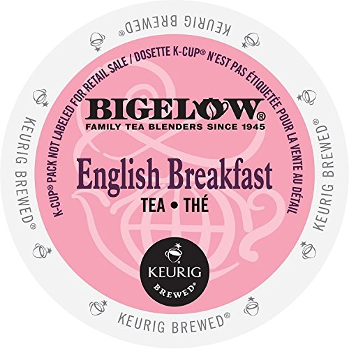 Bigelow K-Cup for Keurig Brewers, English Breakfast Tea , 24 count...