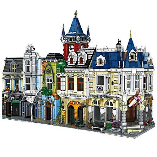 KEAYO Juego de construcción 3 en 1, construcción modular de 8740 piezas de bloques de construcción, modelo de casa, compatible con casa Lego.