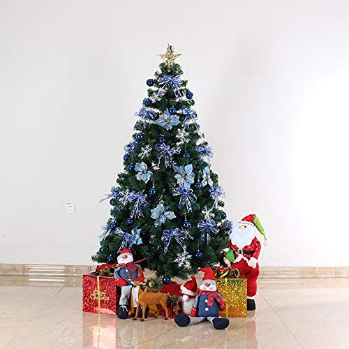 DBFSX PVC Mini Christmas Tree with Christmas Tree Decoration Accessories Tree Light String for Home Dector