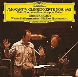 Mozart: Violin Concertos No. 4 Y 5 [Vinilo]