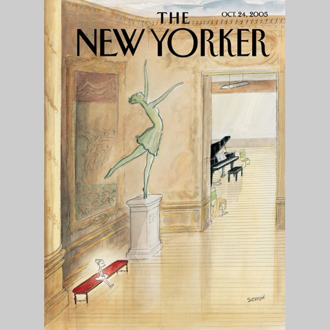 The New Yorker (Oct. 24, 2005) audiobook cover art