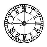 reloj grande pared hierro forjado