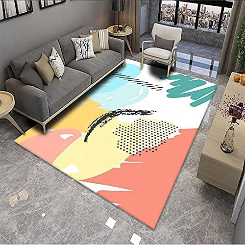 GYYSDY Alfombra Impresa Sala de Estar Dormitorio Alfombra de Empalme mesita de Noche Manta Mesa de café sofá cojín decoración del hogar Alfombra