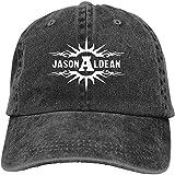 Sunyuer Unisex Jason Aldean Denim Hat Puede Ajustar la Gorra de béisbol Gorra de béisbol