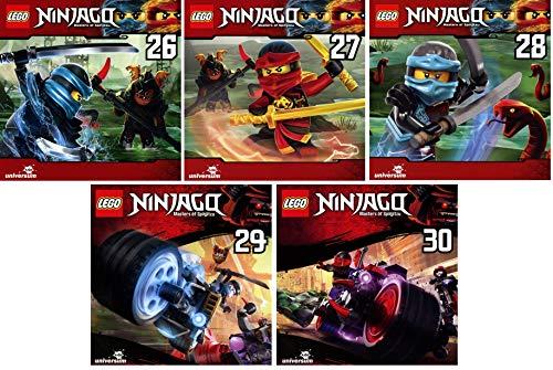 Lego Ninjago - Hörspiel CD 26-30 (26+27+28+29+30) im Set - Deutsche Originalware [5 CDs]