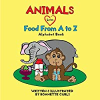 Animals Love Food from A to Z (Pink Thumb)