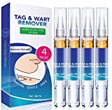 Skin Tag Remover - Wart Remover - Quickly Remove Common And Plantar Warts - Corns - Callus -Skin Tag Removal(4 Packs)