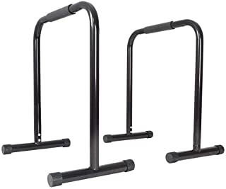 TANGNADE Dip Stand Station,Heavy Duty Dip Stands Fitness Workout Dip Bar with Adjustable Length and Foam Grips, Station Stabilizer Parallette Push Up Stand