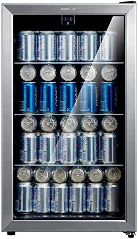 Comfee 115 120 Can Beverage Cooler Refrigerator 115 cans capacity mechanical control glass door product image