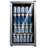 Comfee 115-120 Can Beverage Cooler/Refrigerator, 115 cans capacity, mechanical control,...