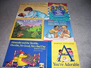 Bright Eyes, Brown Skin, You're Adorable, Five Little Ducks, The Crayon Box That Talked, Tell Me A Story Mama, Alexander and the Terrible, Horrible, No Good, Very Bad Day (Six Books)